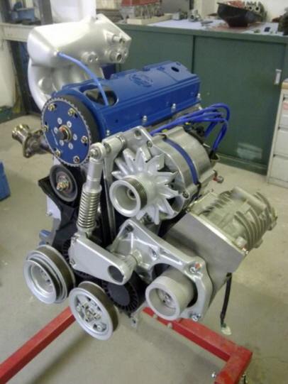 Mercedes  Motor Umbau